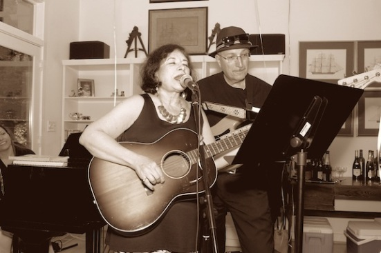 Carole and Larry Performing